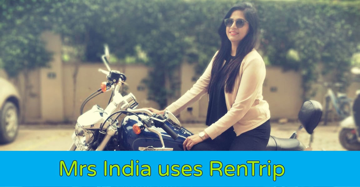 mrs india uses RenTrip