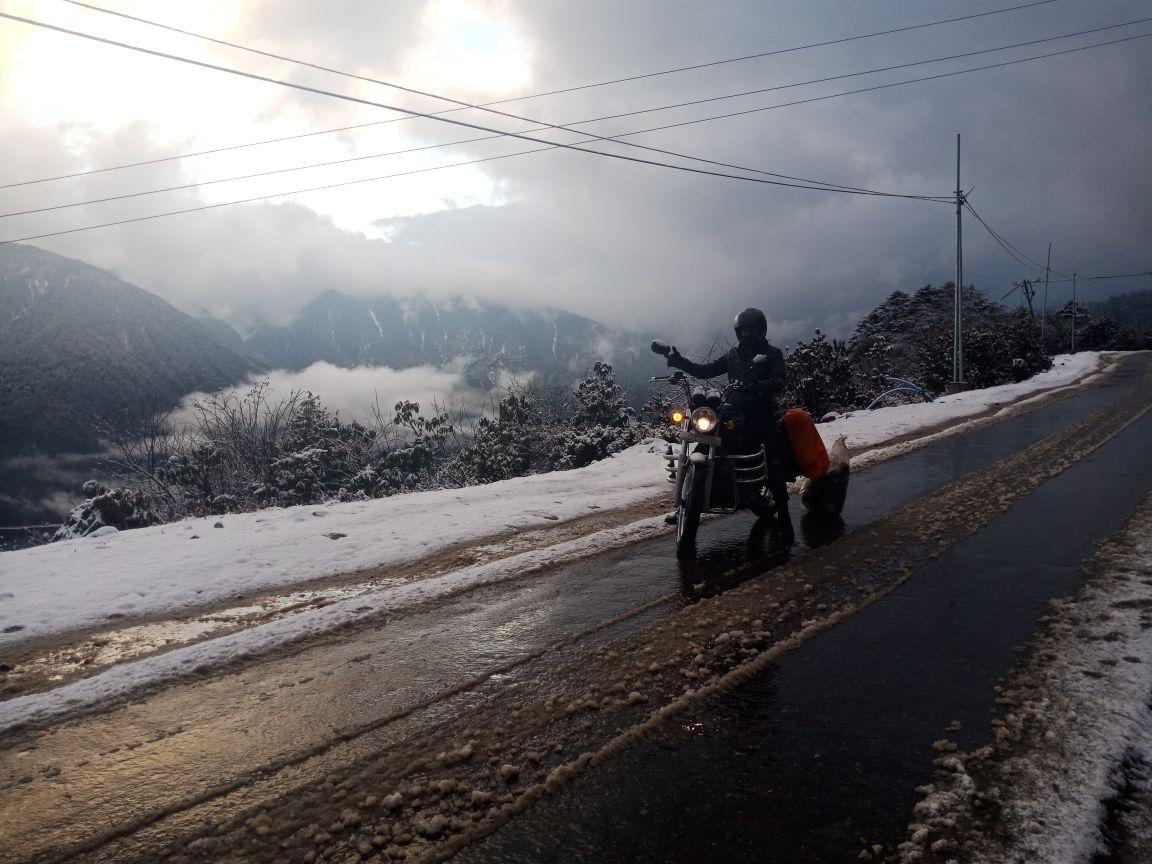 bike trip to tawang