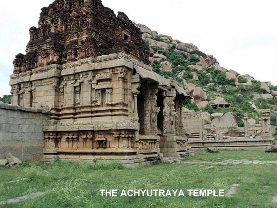 Achyutraya Temple, Hampi