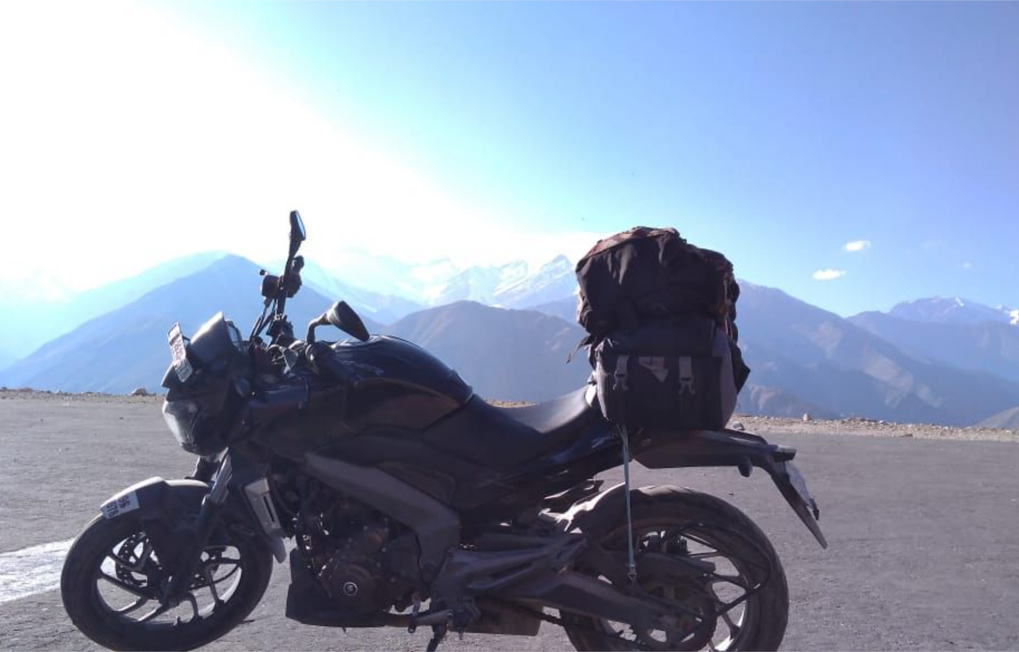 best bike for ladakh - dominar 400