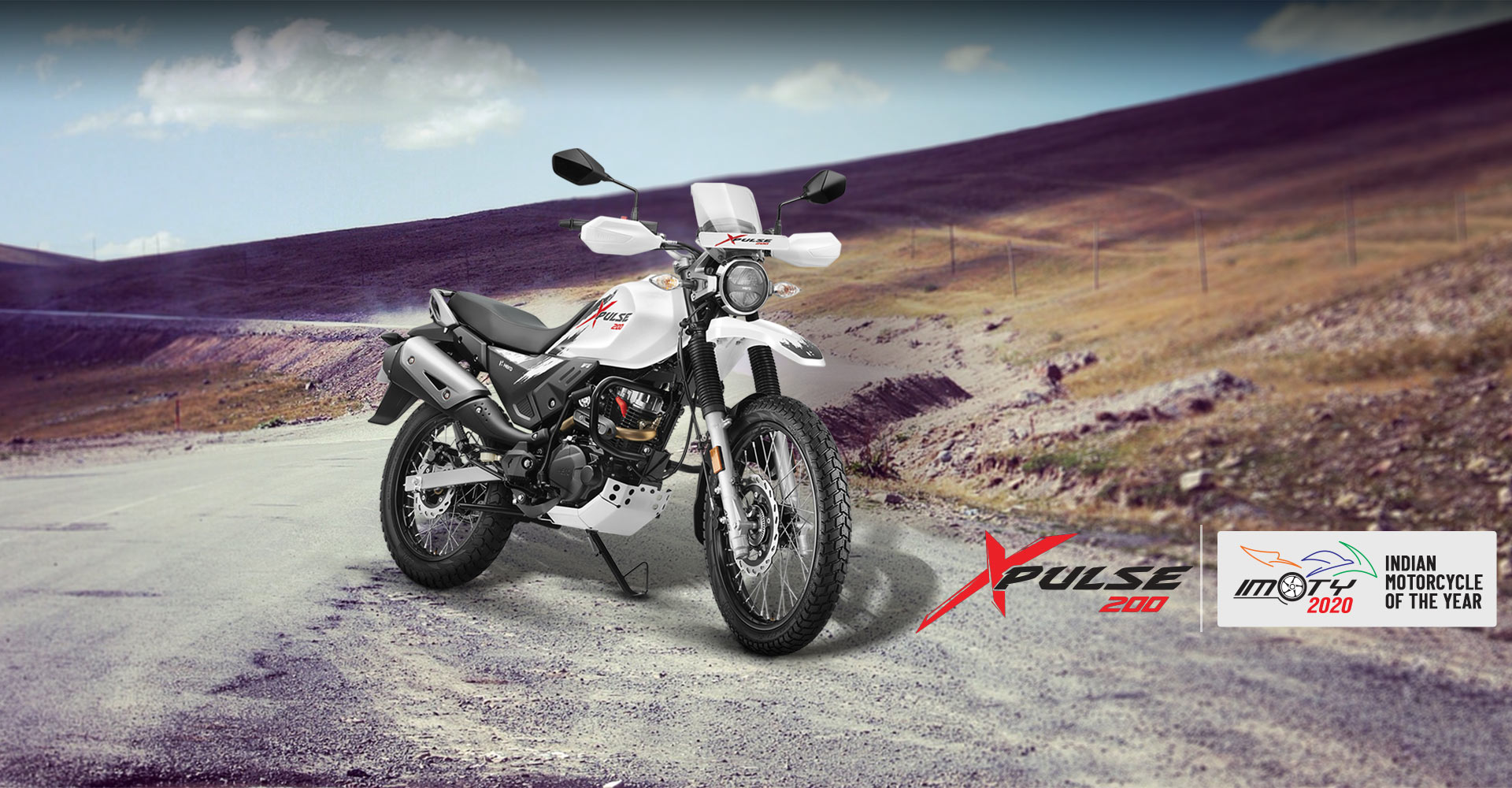 Best Bikes for Ladakh - Hero Xpulse