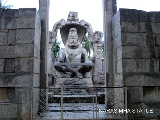 Narasimha Statue, Hampi