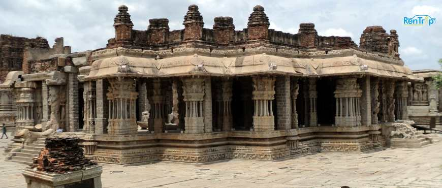 Vittal Temple Hampi Full View Inside